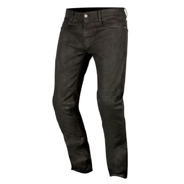 Alpinestars Double Bass Denim Pants Motorcycle Jeans Greaser Black